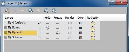 manage layers