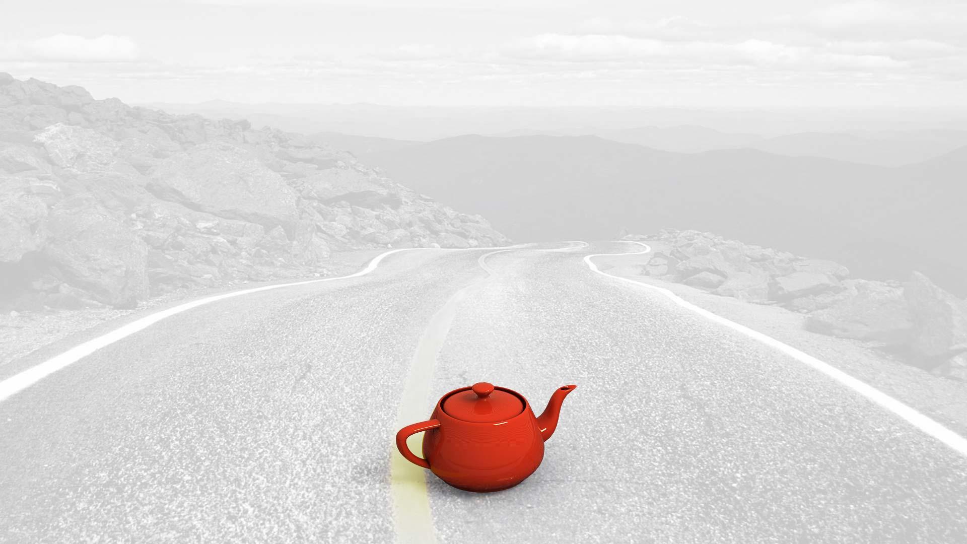 работа с чайником независимо от фона